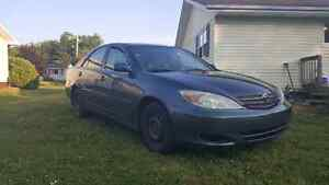 2002 Toyota Camry REDUCED-MOVING SALE