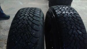 4 winter tires on gm colorado or canyon wheels 235/75r15