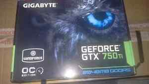 Gigabyte Geforce Gtx 750ti 2gb graphic card Gatineau Ottawa / Gatineau Area image 1