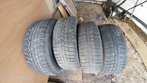 SET OF 4 MICHELIN X - ICE WINTER TIRES 215/ 65 R 15