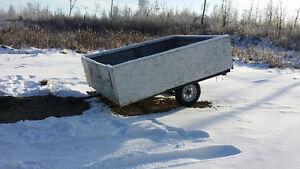 Utility trailer with new tires