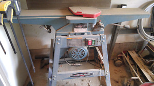 "Jet 6"" jointer with base."