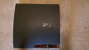 PS3 with 3 controllers,PS move and 16 games West Island Greater Montréal image 1