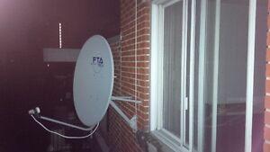 Antenne parabolique FTA Tech