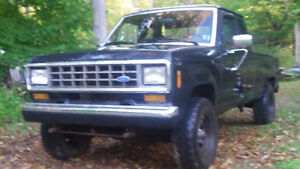 1988 Ford Ranger V6 5 speed 4x4