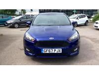 2017 Ford Focus 1.5 EcoBoost ST-Line 5dr Manual Petrol Hatchback