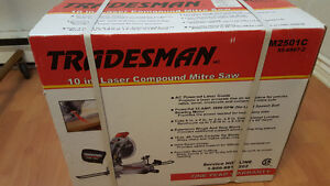 "Tradesman 10"" Laser Compound Mitre Saw"