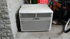Climatiseur/thermopompe, fenêtre/mural, 8000 BTU