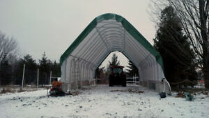 Building Coverall Shed