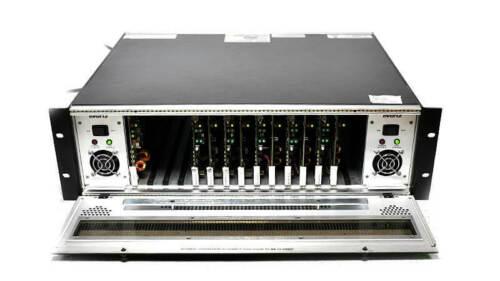 Evertz 7700FR-C & 7700FC + 5x 7736CDM-A4 Component SDI - Analog Video Encoder
