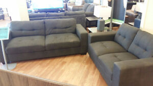 Fabric Sofa & Love seat