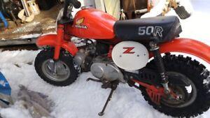 Wanted Honda Z 50