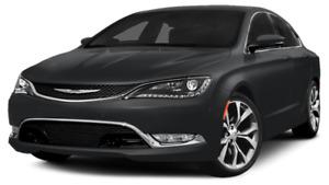 2015 Chrysler 200-Series C Coupe (2 door)