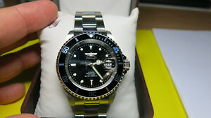 Invicta Divers 200 meters water resistant watch.