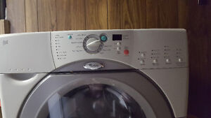 Whirlpool DUET WASHER with Part # 8182695 control board