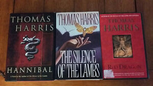 Thomas Harris: Red Dragon, The Silence of the Lambs, Hannibal