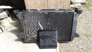 Ford radiator and transmission cooler