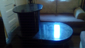 Black coffee and end table set for sale