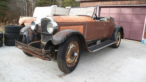 1927 Nash convertible rumble seat long wheelbase