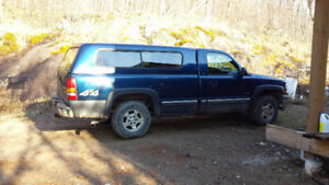 1999 - 2006 Silverado / Sierra tailgate and fitted rubber liner