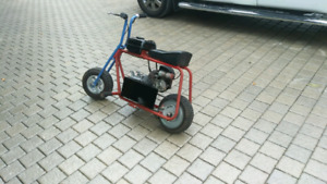 Azusa minibike with predator 6.5 HP engine