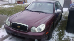 2002 Hyundai Sonata Full Equiped Sedan