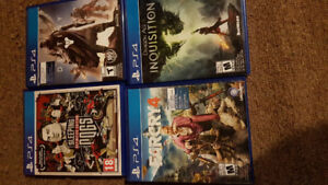 ps4 games trade