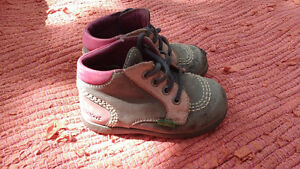 Chaussures kickers petite fille