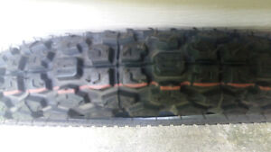 Brand new 100,80,17 3.00 17 Enduro tire