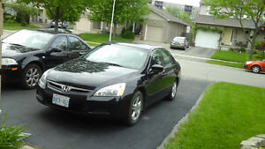 2007 HONDA ACCORD FULLY LOADED, SUN ROOF,LEATHER SEAT,SAFETY, ET