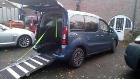 2013 Peugeot Partner Tepee Automatic Disabled Wheelchair Accessible Vehicle