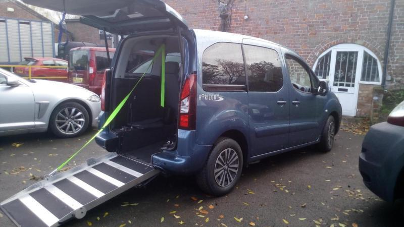 2013 peugeot partner tepee automatic disabled wheelchair accessible vehicle in gloucester. Black Bedroom Furniture Sets. Home Design Ideas