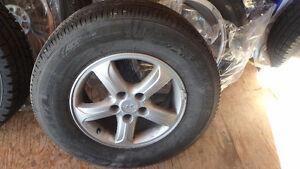 4 pneus 4 saisons avec mag original Santa Fe
