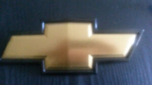 Chevy Front Grille Bow Tie Emblem, Genuine GM, Fits 2007-2014