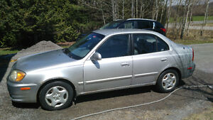 2005 Hyundai Accent Sedan-1500$