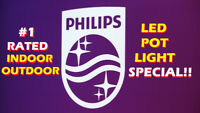 """TOP QUALITY PHILIPS® """"INDOOR/OUTDOOR"""" LED POT LIGHT INSTALLATION"""
