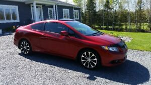 2013 Honda Civic SI Coupe (2 door)-$17000 obo