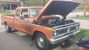 1977 Ford F-350 Camper Special Pickup Truck