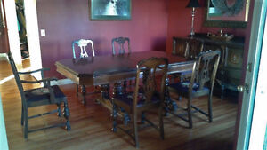 Antique Dinning Room Table