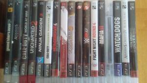 PlayStation 3 videogames