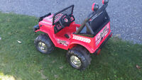 Good Condition | 12V Electric Jeep | 2 seater