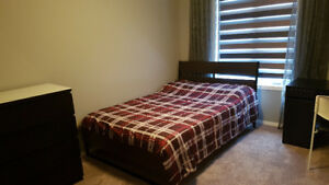 Furnished bedroom and private bathroom bridgewater centre
