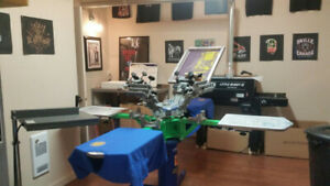 Screen Printing package, everything you need to get started
