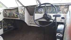 18ft Glastron 60hp Mercury  $800 as is