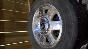 Aluminum rims and rubber from kia sedona 215/70R15