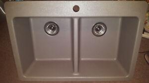 Blanco Double Bowl Kitchen Sink