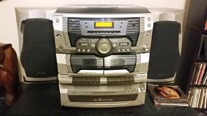 Radio stéréo , Vinyle,cassette,cd