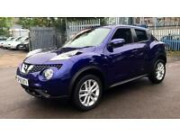 2015 Nissan Juke 1.6 N-Connecta Xtronic Automatic Petrol Hatchback
