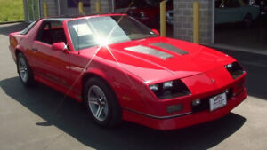 Searching for 1987 Camaro IROC Z28 - Clean, Low km's, Stock