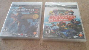 Two brand new PS3 games with plastic cover still on West Island Greater Montréal image 1